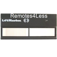 LiftMaster 362LM 2-Button Visor Digital Code Switch Gate Garage Door Opener Remote Control On 315MHz Compatible With LiftMaster 61LC Used In Canada